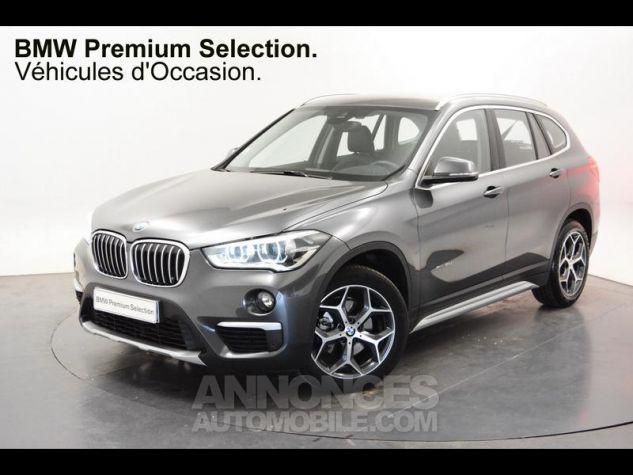 BMW X1 xDrive18dA 150ch xLine Mineralgrau Occasion - 0