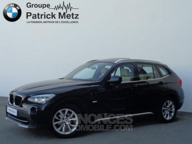 BMW X1 xDrive20d 177ch Luxe Saphirschwarz metallisee Occasion - 0
