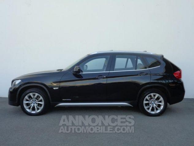 BMW X1 xDrive20d 177ch Luxe Saphirschwarz metallisee Occasion - 1