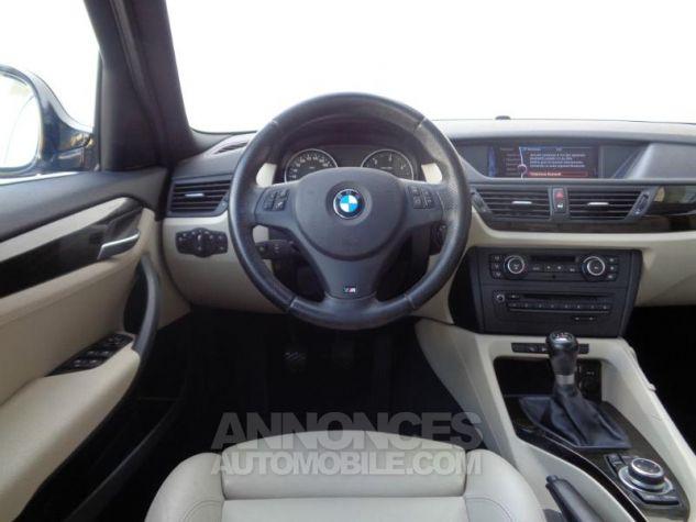 BMW X1 xDrive20d 177ch Luxe Saphirschwarz metallisee Occasion - 4