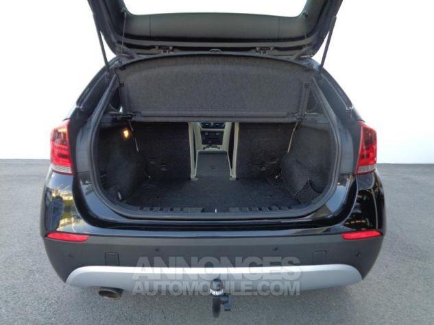 BMW X1 xDrive20d 177ch Luxe Saphirschwarz metallisee Occasion - 8