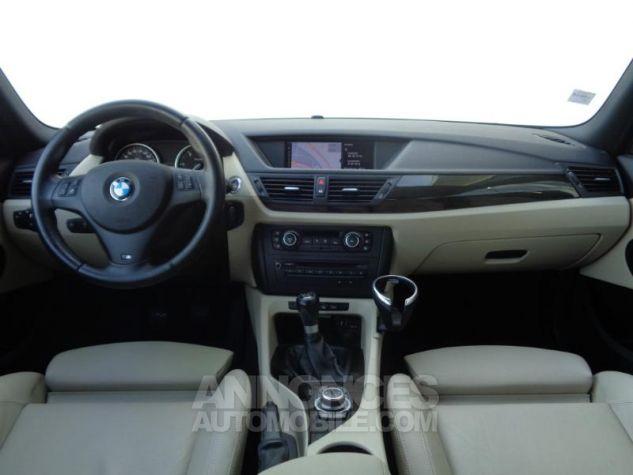 BMW X1 xDrive20d 177ch Luxe Saphirschwarz metallisee Occasion - 12