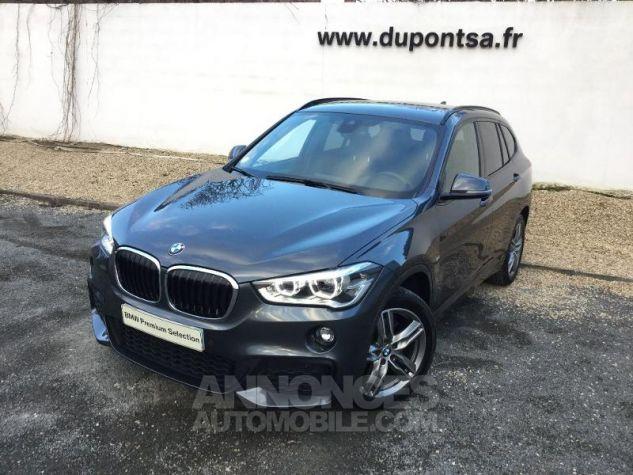 BMW X1 xDrive20dA 190ch M Sport GRIS F Occasion - 0