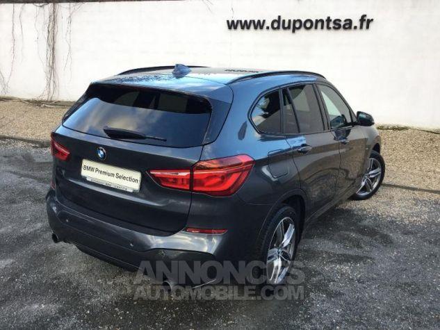 BMW X1 xDrive20dA 190ch M Sport GRIS F Occasion - 1