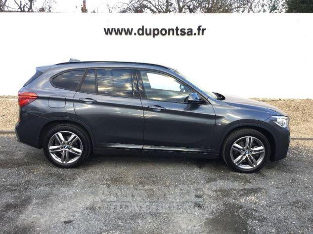 BMW X1 xDrive20dA 190ch M Sport GRIS F Occasion - 8