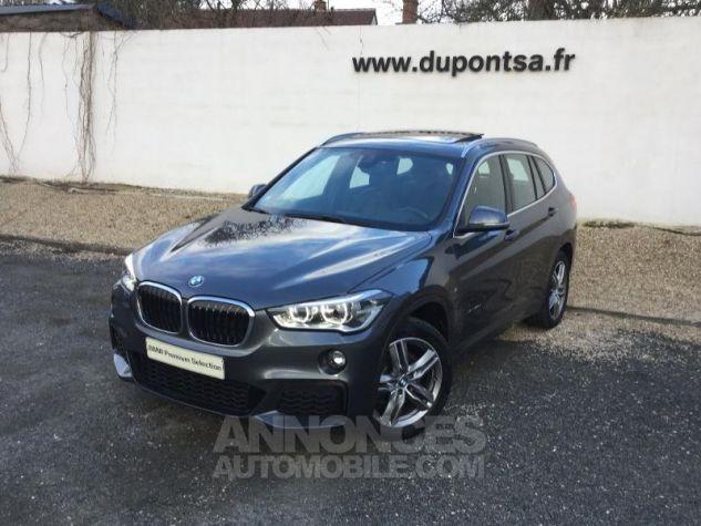 BMW X1 xDrive25dA 231ch M Sport GRIS Occasion - 0