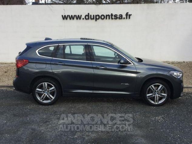 BMW X1 xDrive25dA 231ch M Sport GRIS Occasion - 8