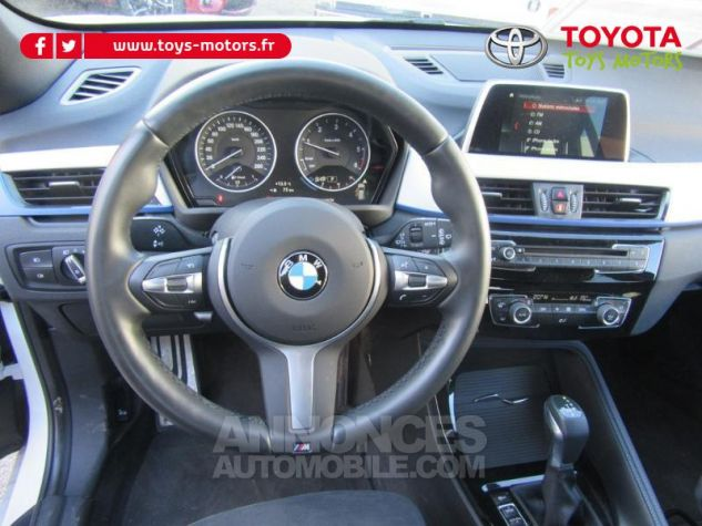 BMW X1 xDrive25dA 231ch M Sport BLANC Occasion - 11