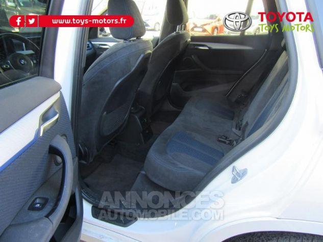 BMW X1 xDrive25dA 231ch M Sport BLANC Occasion - 13