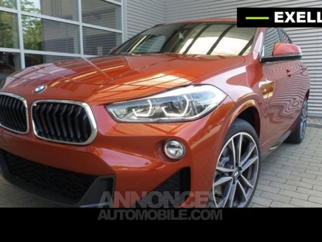 BMW X2 SDRIVE 18D PACK M SPORT BVA  ORANGE Occasion - 1
