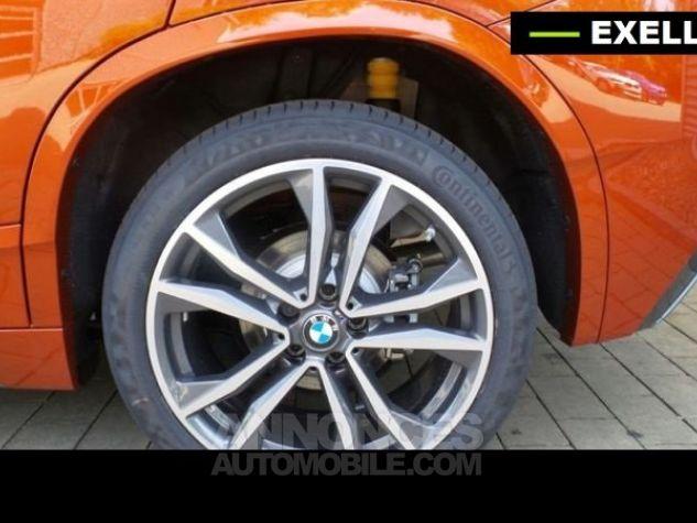 BMW X2 SDRIVE 18D PACK M SPORT BVA  ORANGE Occasion - 3