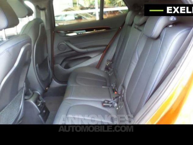 BMW X2 SDRIVE 18D PACK M SPORT BVA  ORANGE Occasion - 9