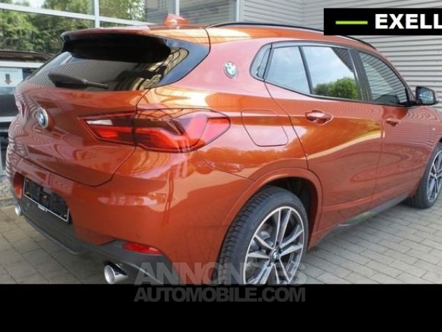 BMW X2 SDRIVE 18D PACK M SPORT BVA  ORANGE Occasion - 2