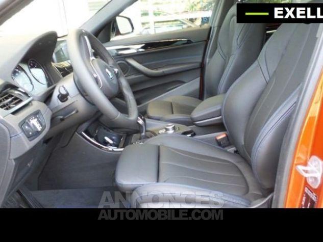 BMW X2 SDRIVE 18D PACK M SPORT BVA  ORANGE Occasion - 5