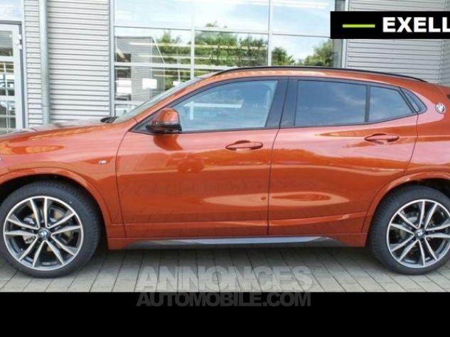 BMW X2 SDRIVE 18D PACK M SPORT BVA  ORANGE Occasion - 10