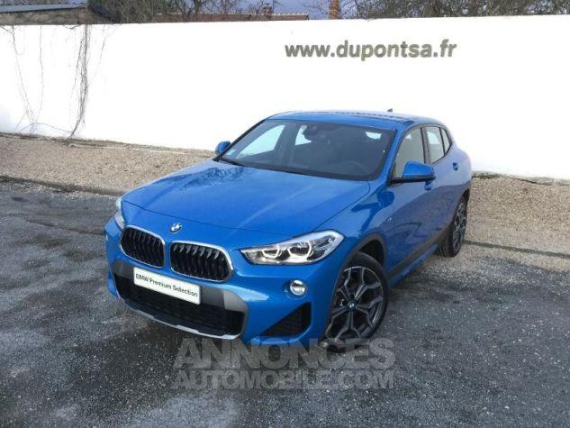 BMW X2 sDrive18iA 140ch M Sport X DKG7 Euro6d-T Misano Blau  metallise Occasion - 0