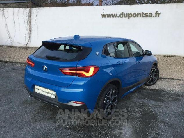 BMW X2 sDrive18iA 140ch M Sport X DKG7 Euro6d-T Misano Blau  metallise Occasion - 1