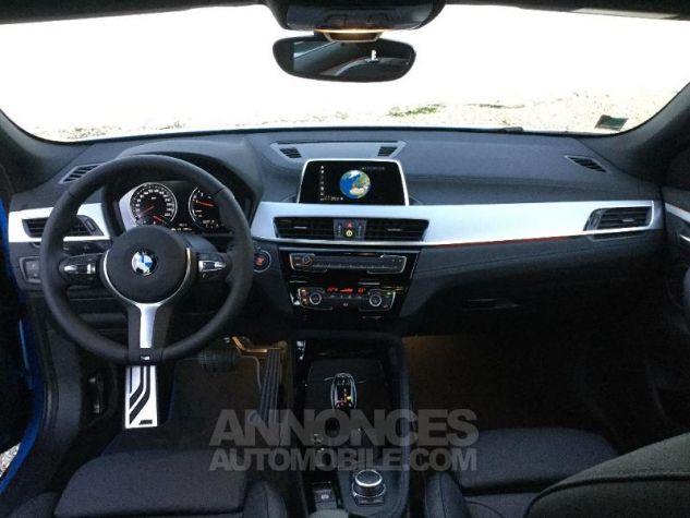 BMW X2 sDrive18iA 140ch M Sport X DKG7 Euro6d-T Misano Blau  metallise Occasion - 3