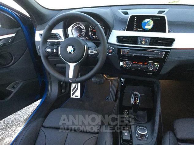 BMW X2 sDrive18iA 140ch M Sport X DKG7 Euro6d-T Misano Blau  metallise Occasion - 4