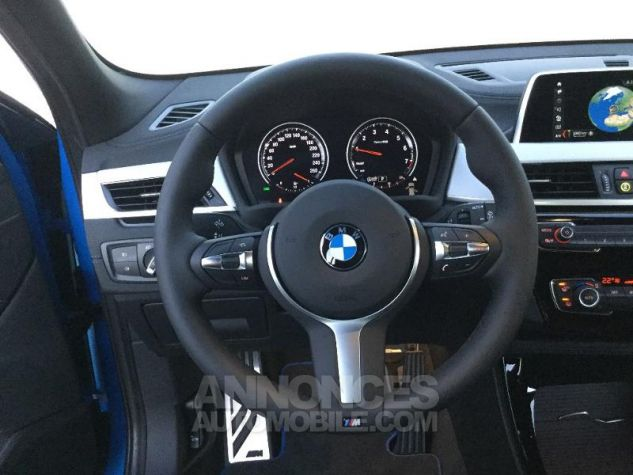 BMW X2 sDrive18iA 140ch M Sport X DKG7 Euro6d-T Misano Blau  metallise Occasion - 5