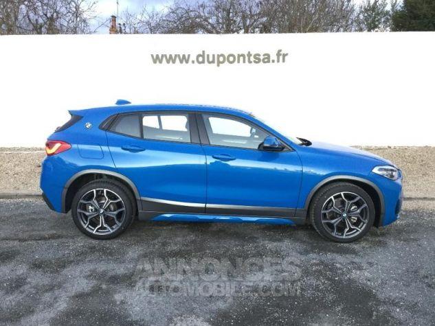 BMW X2 sDrive18iA 140ch M Sport X DKG7 Euro6d-T Misano Blau  metallise Occasion - 8