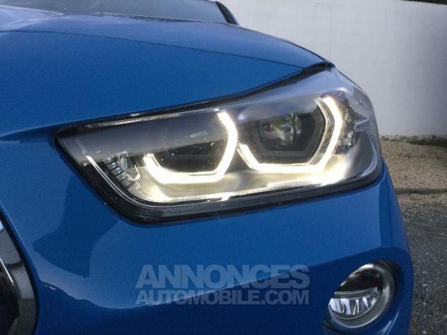 BMW X2 sDrive18iA 140ch M Sport X DKG7 Euro6d-T Misano Blau  metallise Occasion - 9