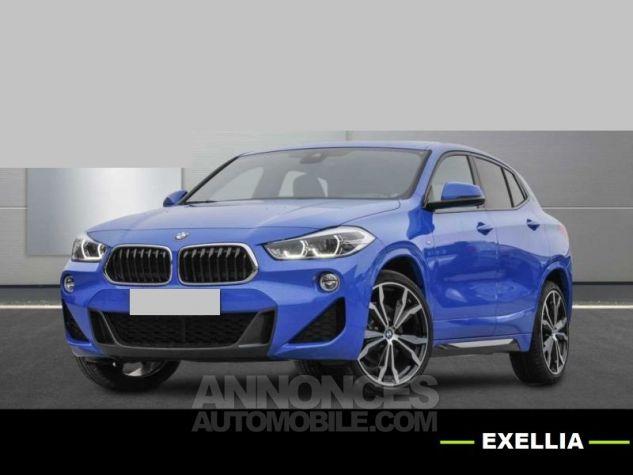 BMW X2 XDRIVE 20D PACK M SPORT BVA  BLEU Occasion - 0