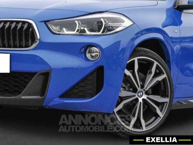 BMW X2 XDRIVE 20D PACK M SPORT BVA  BLEU Occasion - 2