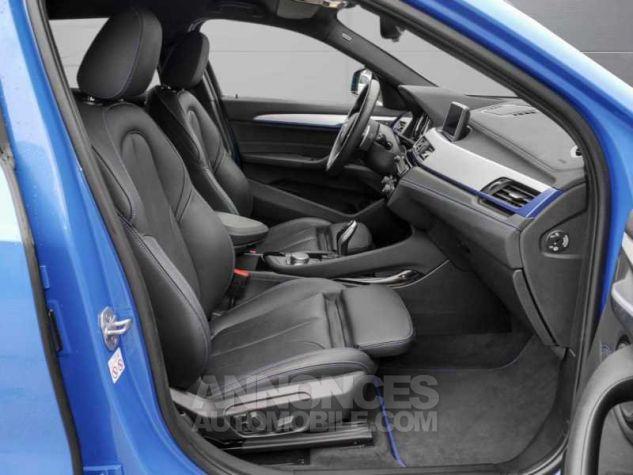 BMW X2 XDRIVE 20D PACK M SPORT BVA  BLEU Occasion - 3