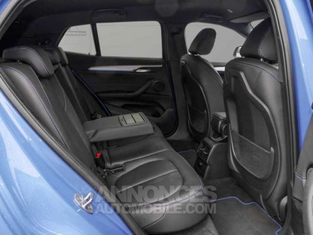 BMW X2 XDRIVE 20D PACK M SPORT BVA  BLEU Occasion - 5