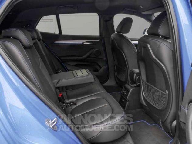 BMW X2 XDRIVE 20D PACK M SPORT BVA  BLEU Occasion - 6