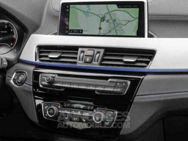 BMW X2 XDRIVE 20D PACK M SPORT BVA  BLEU Occasion - 7