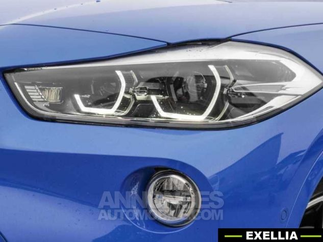 BMW X2 XDRIVE 20D PACK M SPORT BVA  BLEU Occasion - 8