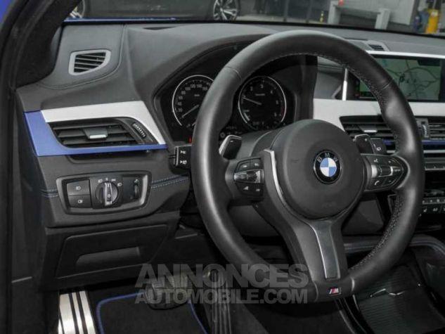 BMW X2 XDRIVE 20D PACK M SPORT BVA  BLEU Occasion - 12