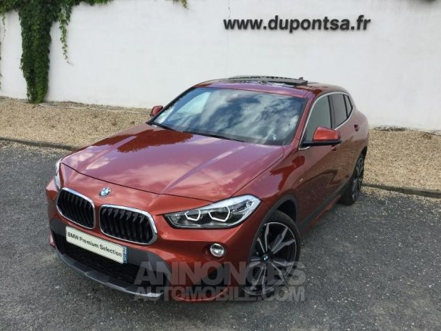BMW X2 xDrive20dA 190ch M Sport X SUNSET ORANGE Occasion - 0