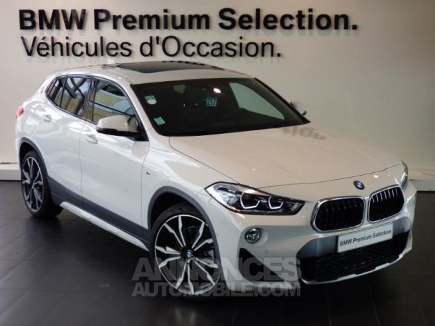 BMW X2 xDrive20dA 190ch M Sport X BLANC Occasion - 0