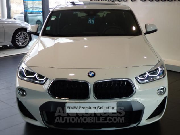 BMW X2 xDrive20dA 190ch M Sport X BLANC Occasion - 3