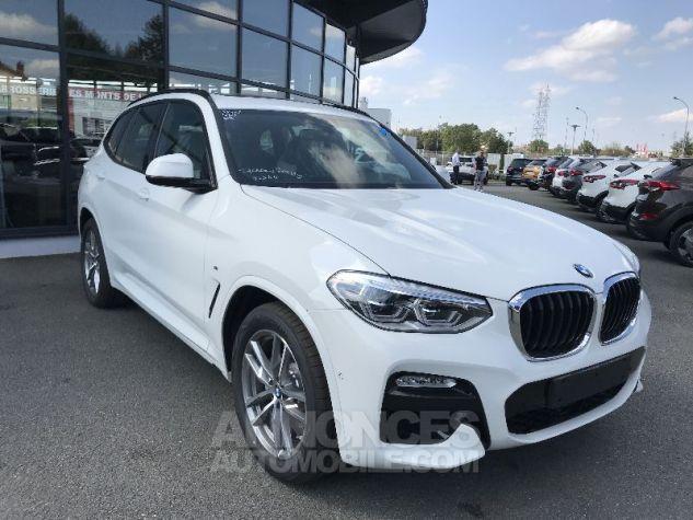 BMW X3 20D X-DRIVE M-SPORT BLANC Neuf - 0