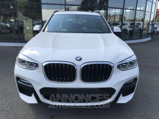BMW X3 20D X-DRIVE M-SPORT BLANC Neuf - 1