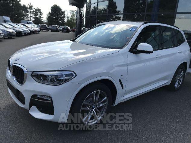 BMW X3 20D X-DRIVE M-SPORT BLANC Neuf - 2