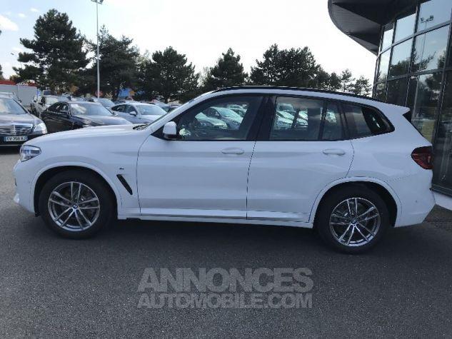 BMW X3 20D X-DRIVE M-SPORT BLANC Neuf - 3