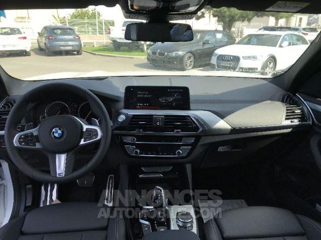 BMW X3 20D X-DRIVE M-SPORT BLANC Neuf - 10