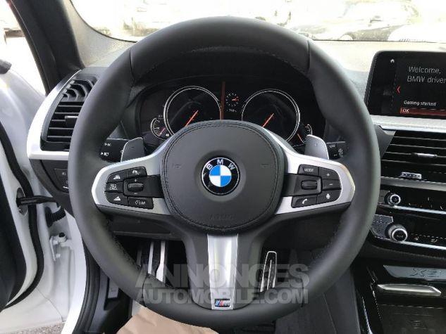 BMW X3 20D X-DRIVE M-SPORT BLANC Neuf - 11