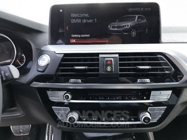 BMW X3 20D X-DRIVE M-SPORT BLANC Neuf - 13