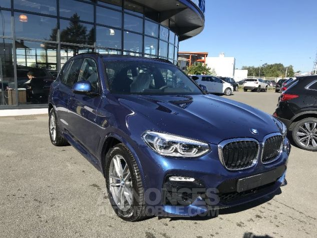 BMW X3 30DA X-DRIVE M-SPORT BLEU PHYTONIC Neuf - 0