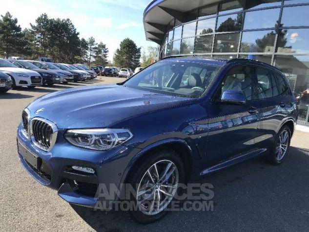 BMW X3 30DA X-DRIVE M-SPORT BLEU PHYTONIC Neuf - 2