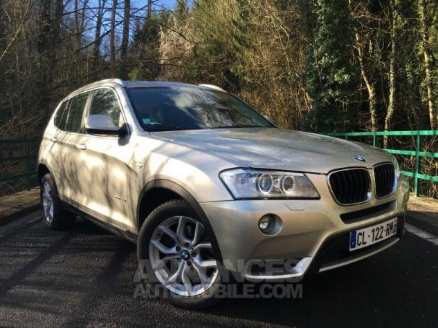 BMW X3 EXCLUSIVE xDrive20dA 184 GRIS Occasion - 0