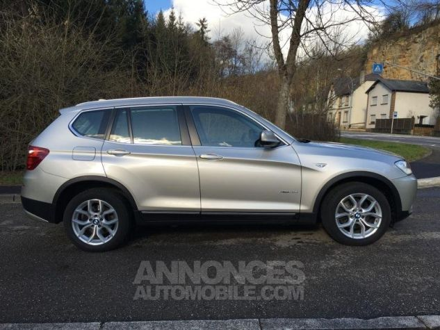 BMW X3 EXCLUSIVE xDrive20dA 184 GRIS Occasion - 1