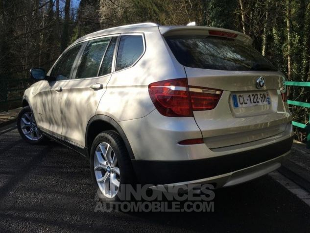 BMW X3 EXCLUSIVE xDrive20dA 184 GRIS Occasion - 2