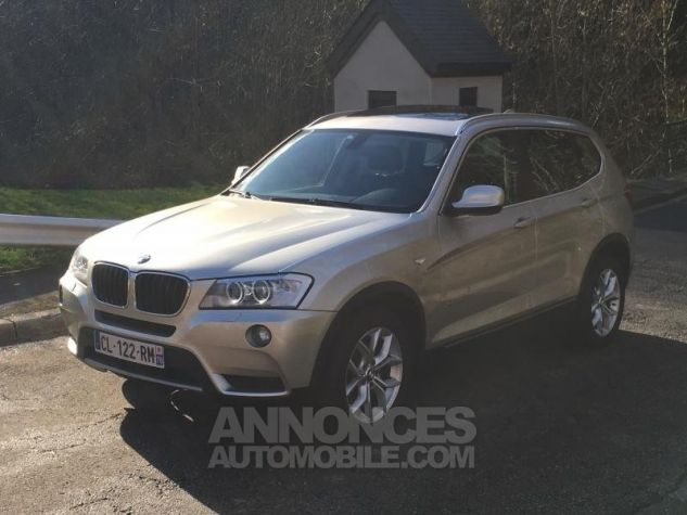 BMW X3 EXCLUSIVE xDrive20dA 184 GRIS Occasion - 3